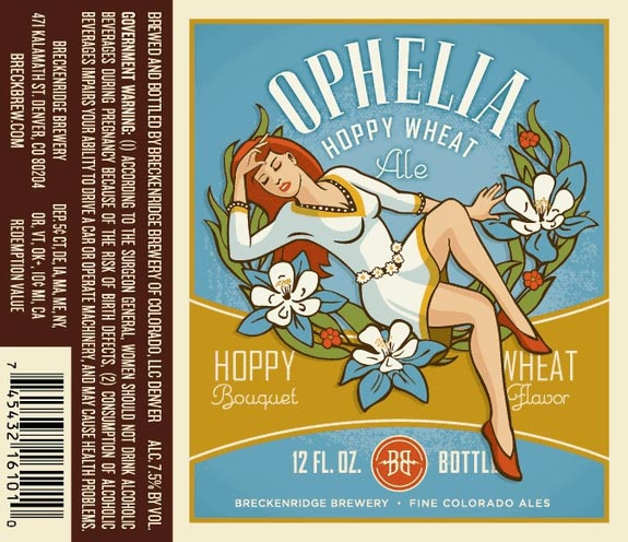 Breckenridge Ophelia Hoppy Wheat