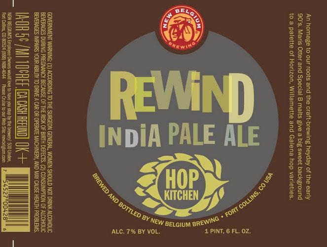 New Belgium Rewind India Pale Ale