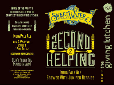 SweetWater Second Helping IPA