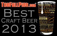 "thefullpint.com presents ""Best Craft Beer of 2013"""