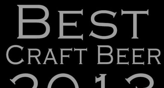 """thefullpint.com presents """"Best Craft Beer of 2013"""""""