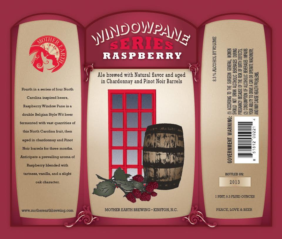 Mother Earth Brewing - Windowpane Series Raspberry