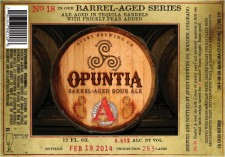 Avery Brewing - Opuntia (Barrel Aged Sour Ale)