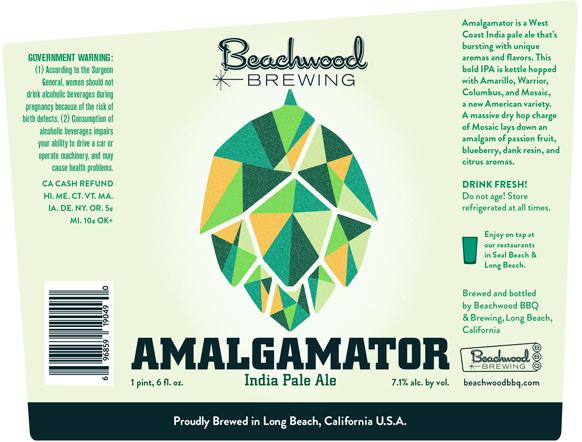 「Beachwood / Amalgamator IPA 」の画像検索結果