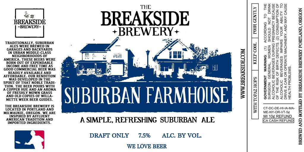 Breakside Suburban Farmhouse Ale
