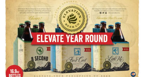 Elevation Beer Co 4 Packs