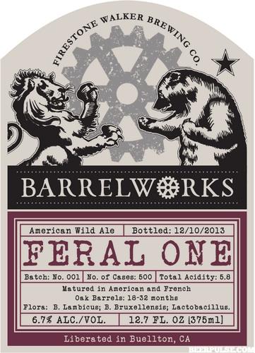 Firestone Barrel Works The Feral One