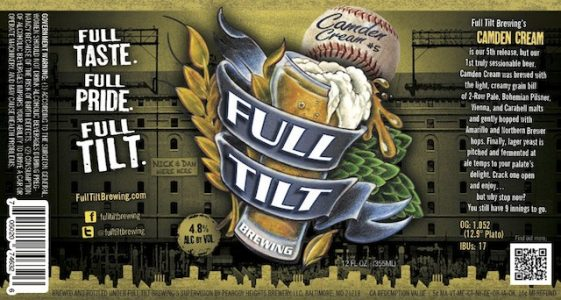 Full Tilt Camden Cream