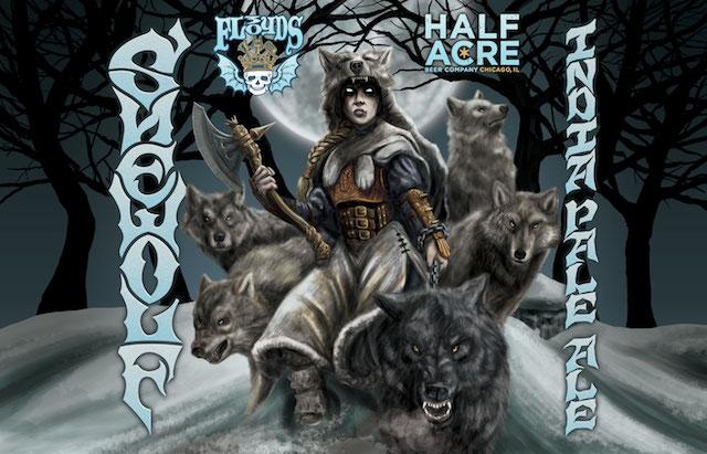 Half Acre 3 Floyds Shewolf