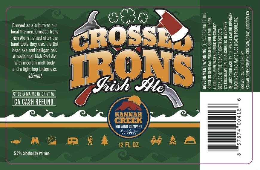 Kannah Creek Cross Irons Irish Ale