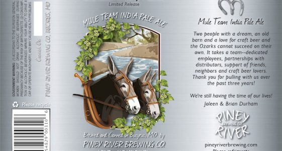 Piney River Mule Team India Pale Ale