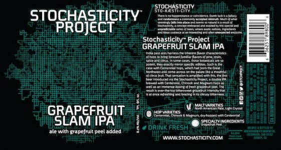 Stochasticity Project Grapefruit Slam IPA