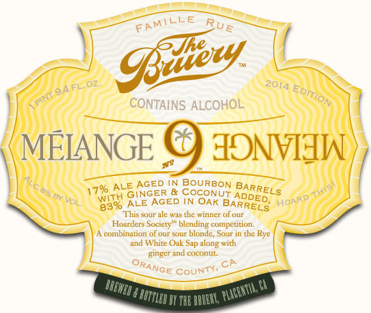 The Bruery Melange 9