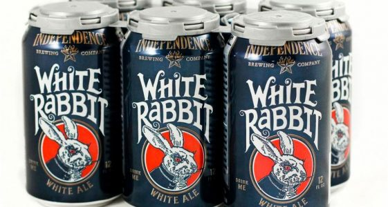 Independence Brewing - White Rabbit White Ale (6 pack cans)