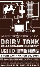 Eagle Rock AleSmith Dairy Tank