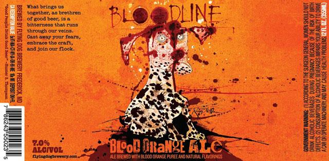 Flying Dog Blood Orange Ale