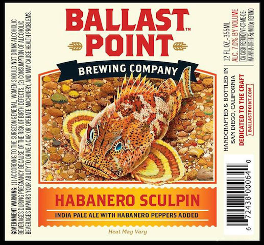 Ballast Point Hananero Sculpin