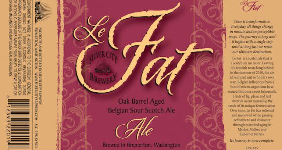 Silver City Brewery Le Fat 2014