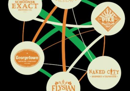 Six Degrees Of Collaboration - Seattle Beer Week IPA