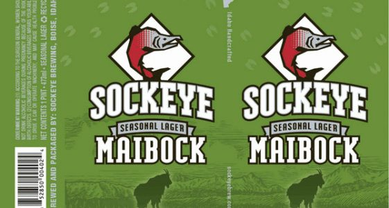 Sockeye Brewery Maibock Can