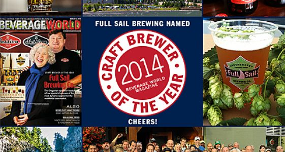 Full Sail Brewing - Craft Brewer of the Year (Beverage Wold Magazine)