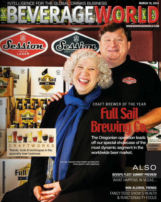 Full Sail Brewing - Beverage World Magazine Cover