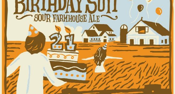 Uinta Brewing - Birthday Suit 21 Sour Farmhouse Ale