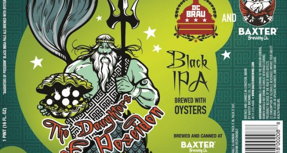 Baxter and DC Brau Daughters of Poseidon