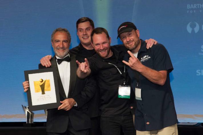 Coronado Brewing with Charlie Papazian at 2014 World Beer Cup
