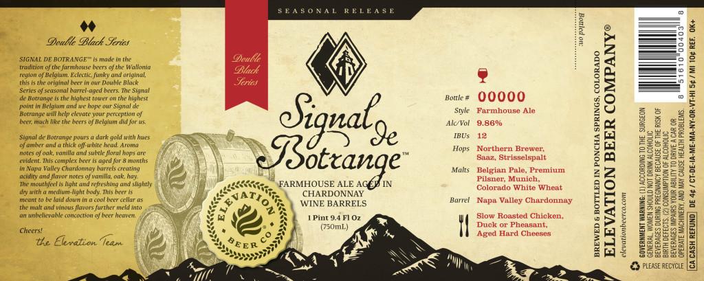 Elevation Beer Co. - Signal De Botrange 2014