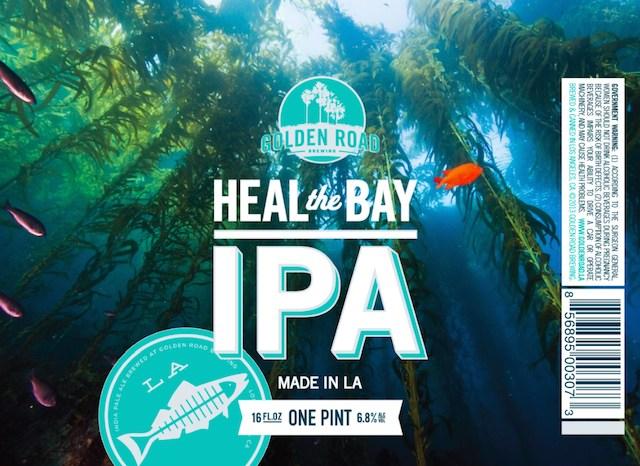 Golden Road Heal The Bay IPA