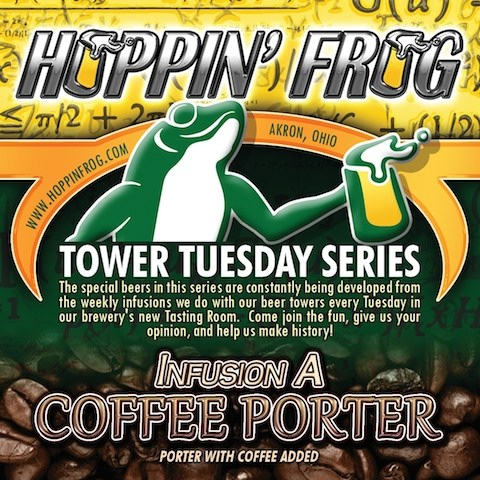 HOPPIN FROG InfusionA-CoffeePorter-justFront