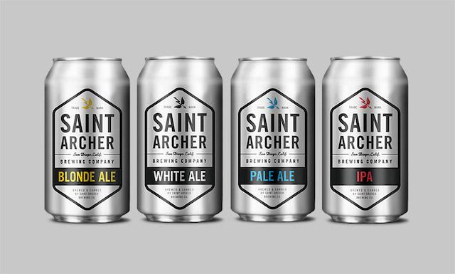 Saint Archer Brewing Cans