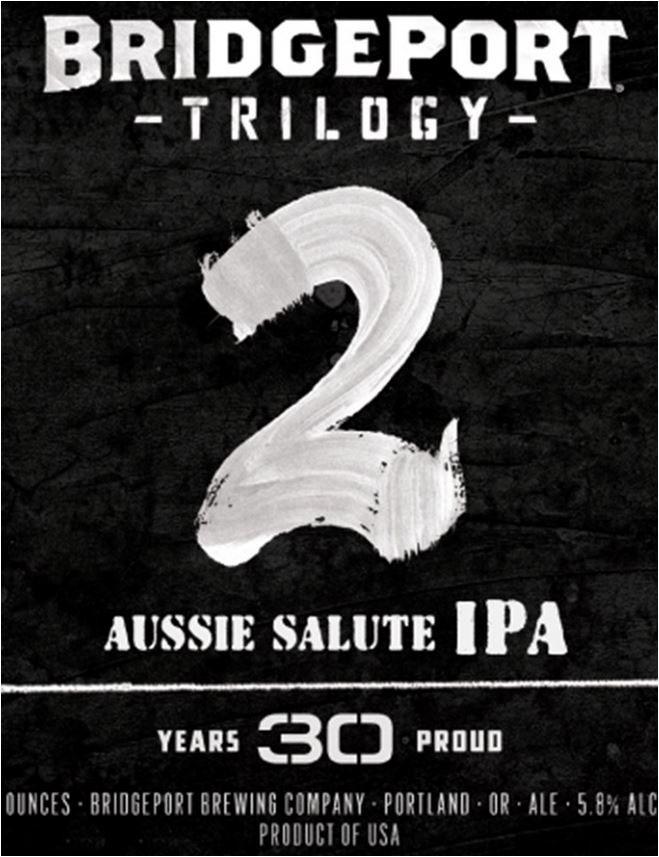 Bridgeport Brewing - Trilogy 2 - Aussie Salute IPA
