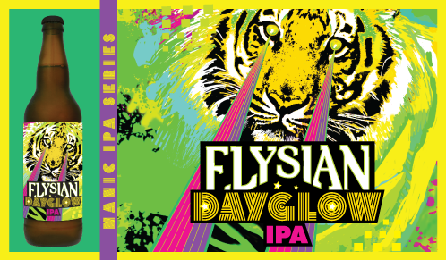 New From Elysian Brewing Dayglow Ipa Thefullpint Com