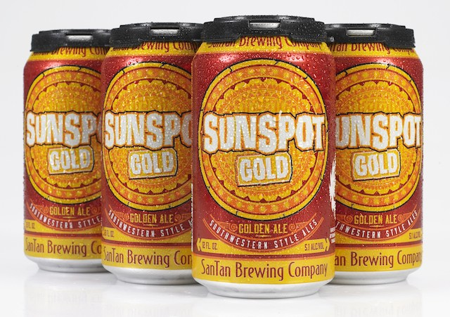 SanTan SunSpot Gold Cans