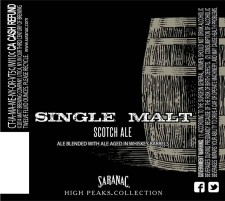 Saranac - Single Malt Scotch Ale