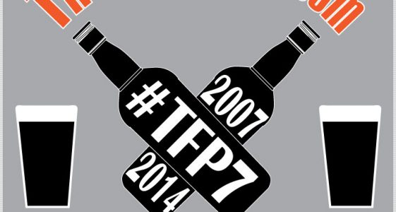 The Full Pint 7th Anniversary Logo