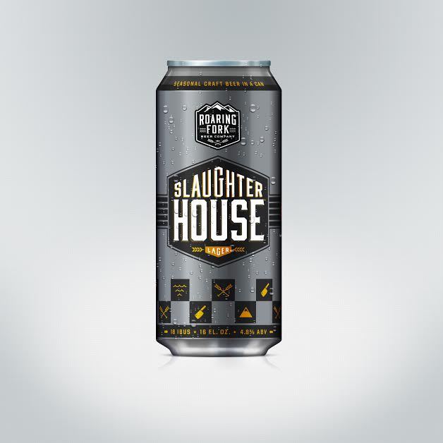 Roaring Fork Beer - Slaughterhouse Lager
