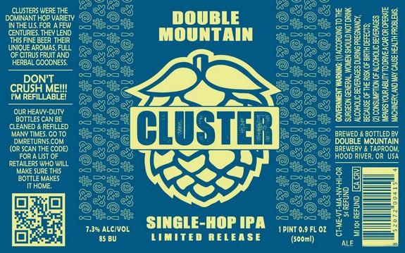 Double Mountain Cluster Single Hop IPA