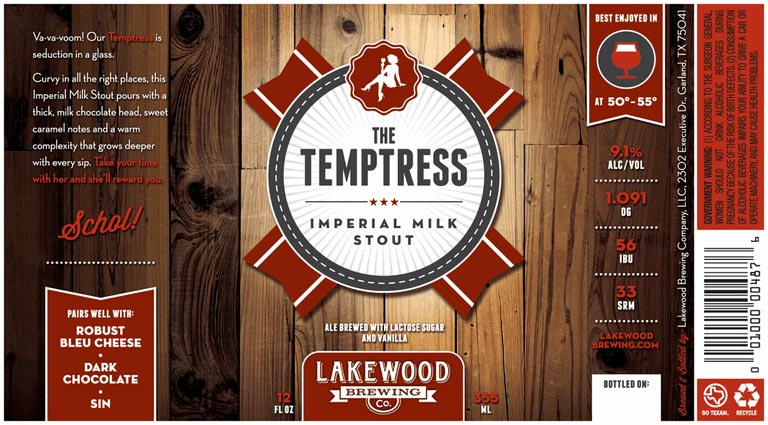 Lakewood Brewing The Temptress