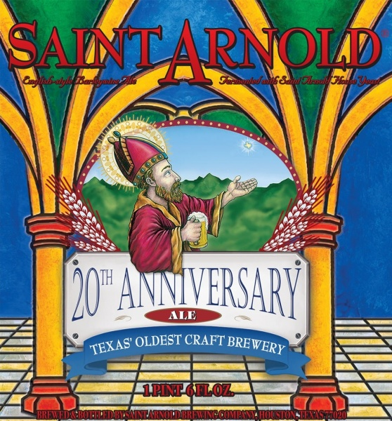 Saint Arnold Brewing - 20th Anniversary Ale