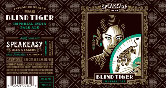 Speakeasy - Blind Tiger Imperial IPA