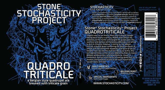 Stone Stochasticity Project Quadro Triticale