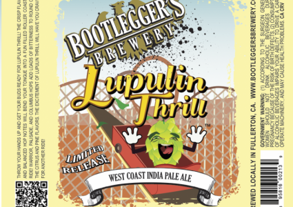 Bootleggers Brewery - Lupulin Thrill IPA