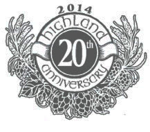 Highland Brewing 20th Anniversary