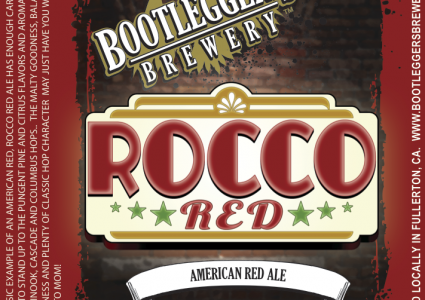 Bootlegger's Brewery - Rocco Red (American Red Ale)