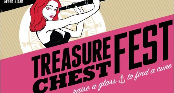 Green Flash Brewing - Treasure Chest Fest 2014