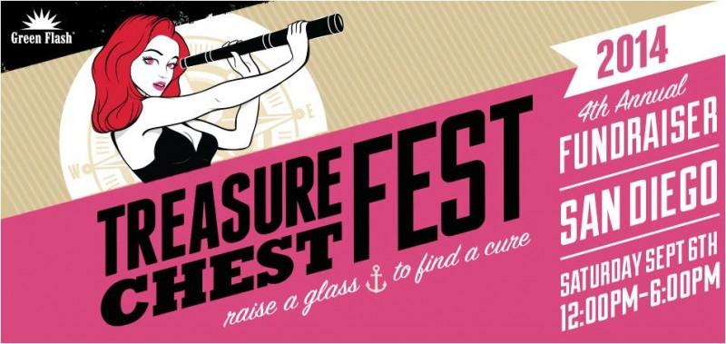 Green Flash Brewing - Treasure Chest Fest 2014