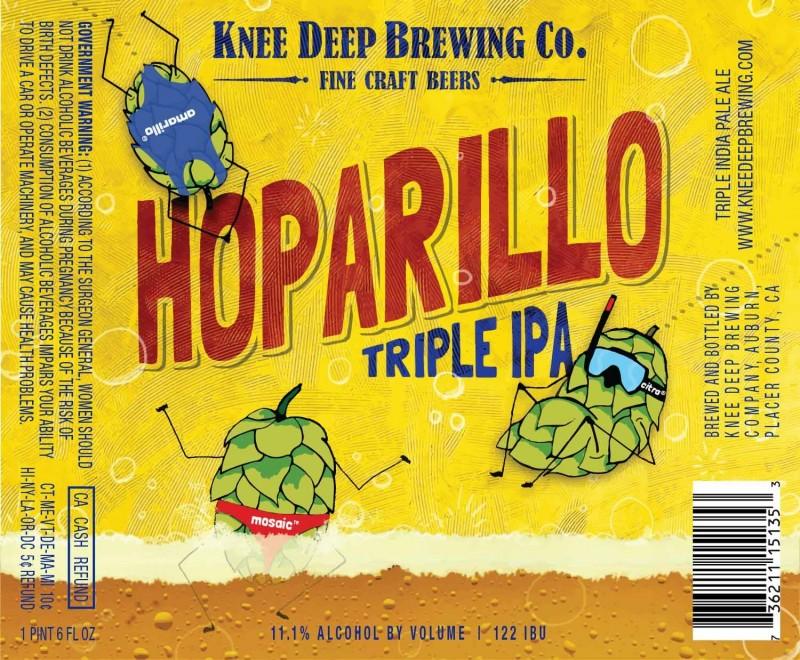 Knee Deep Hoparillo Triple IPA